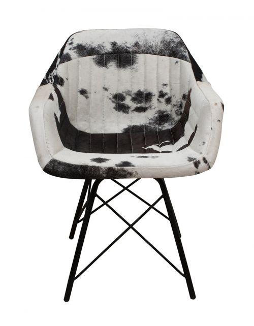 Krzesło z obiciem skórzanym M-11717
