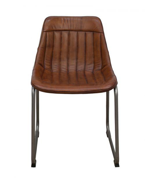 Krzesło z obiciem skórzanym M-5564