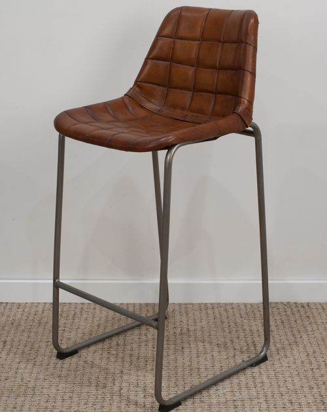 Krzesło z obiciem skórzanym M-12410