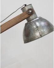 Lampa Podłogowa Stojąca Silver