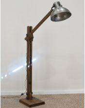 Lampa Podłogowa Stojąca Black