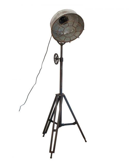Okazała lampa podłogowa, stojąca na trójnogu 120/200cm