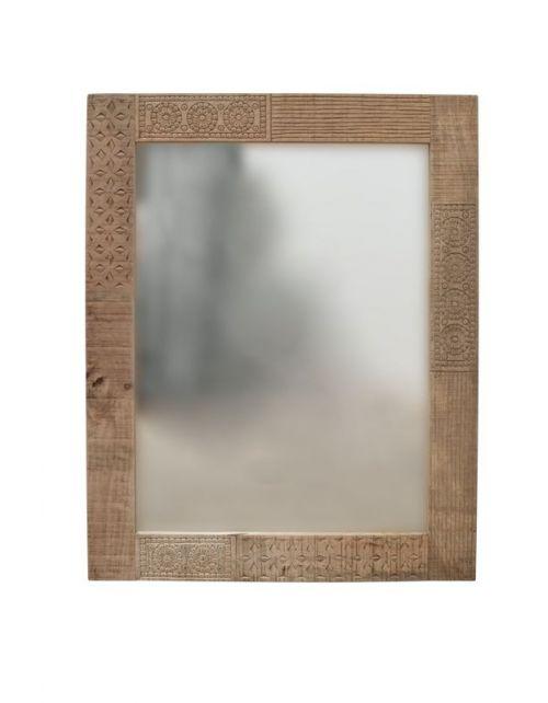 Lustro z drewna mango 100 x 80