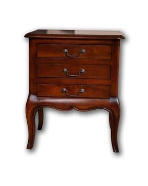 Stolik / Szafeczka drewniany pod lampę Klasyczny