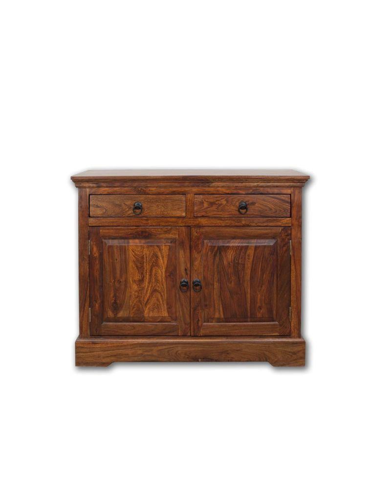 Komoda do salonu (4+4) Walnut 110x90x45 cm