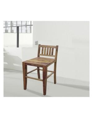 Krzesło drewniane barowe Natural Palisander