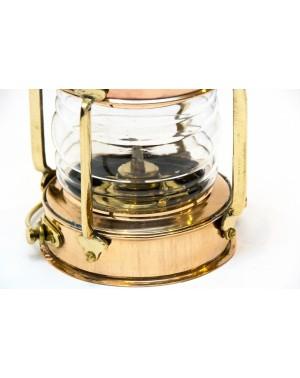Miedziana lampa żeglarska retro LTN-0036
