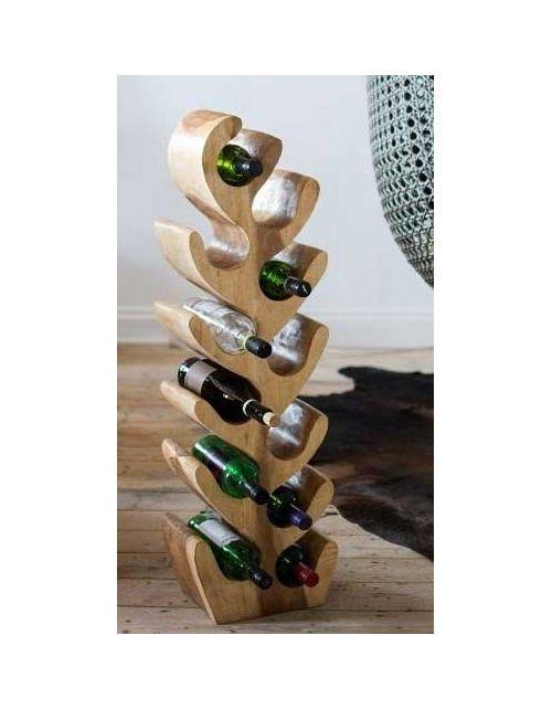 Stojak na Wino drewno suar WR8