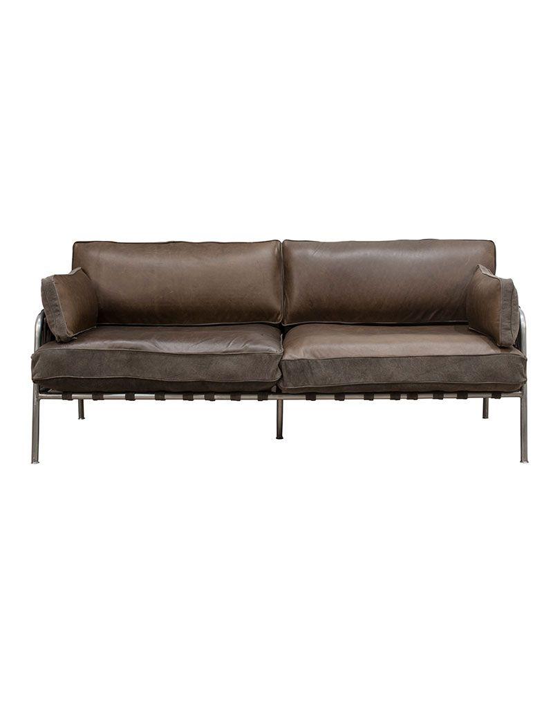 Brown Sofa 2 osobowa
