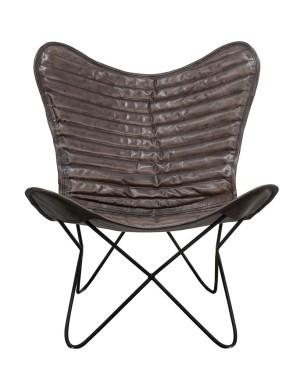 """Fotel wypoczynkowy 3 """" Butterfly Chair Gray"""""""
