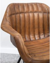 Krzesło z obiciem skórzanym M-17669