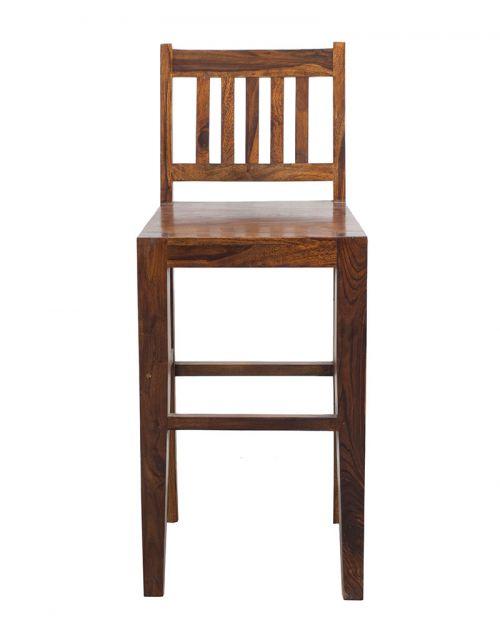 Krzesło Hoker drewniane barowe Oiled Matt
