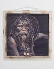 Niesamowity obraz szaman - 79x3x79