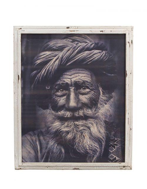 Niesamowity obraz szaman, kuzyn przywódcy ojciec Zoli - 80x3x97