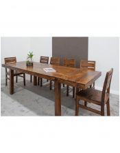 Stół drewniany jadalniany 120/210 State Oiled Matt Palisander