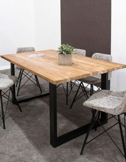 stół jadalniany 160x100x75 Black
