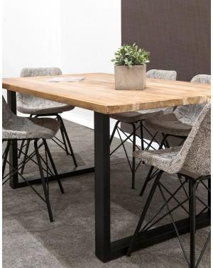 stół jadalniany 166x100x75 Natural