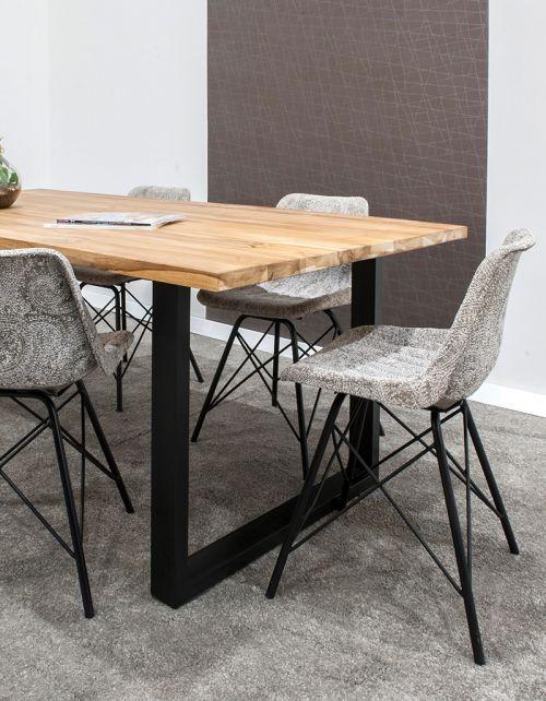 stół jadalniany 200x100x75 Black