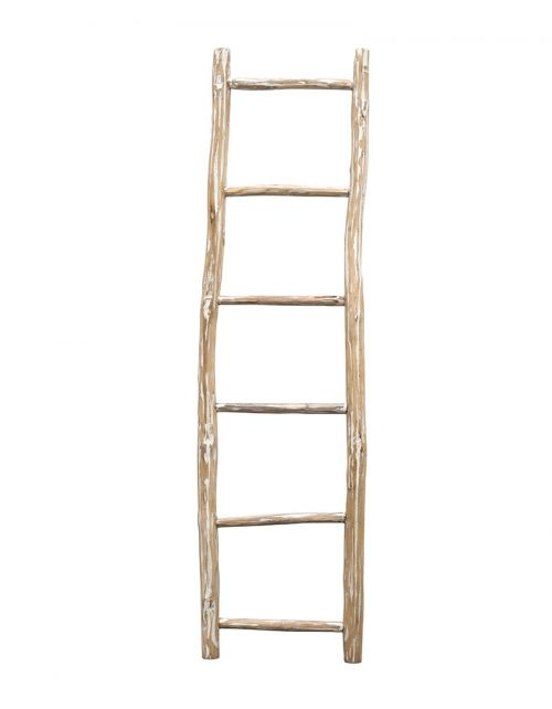 Drabina 180cm Ladder White Wash