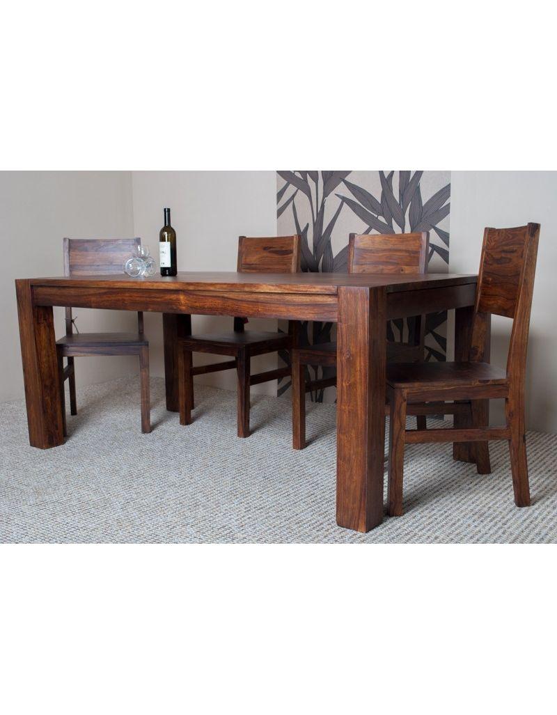 Stół drewniany jadalniany 160/260 cm Oiled Matt
