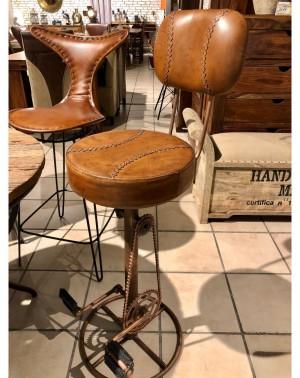 Hoker / Krzesło / Stołek barowy M-10909