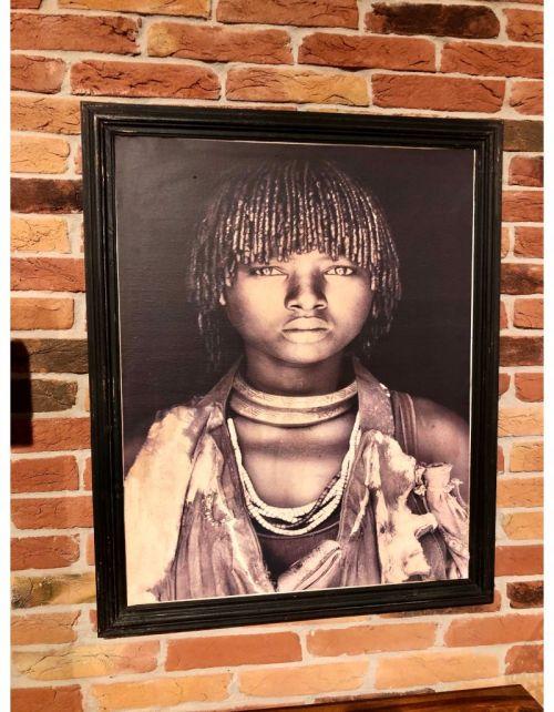 Zola Kobieta z wioski Masajskiej 92x75