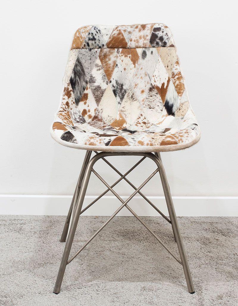Krzesło z obiciem skórzanym M-16884