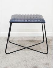 Krzesło / Stołek z obiciem skórzanym ST-002
