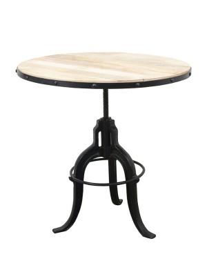 Drewniany Stolik kawowy 75x75x75-100