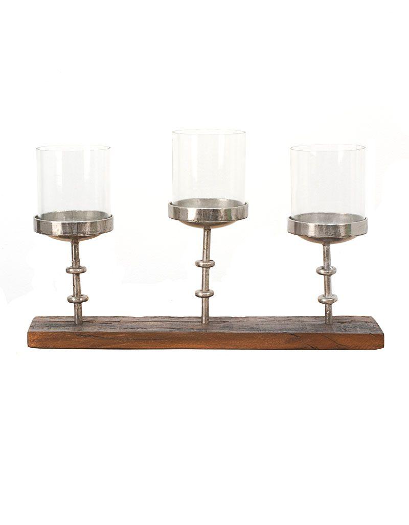Dekoracja stojak świecznik