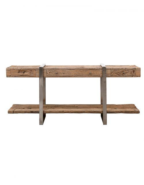 Konsola drewniana 180x43x80