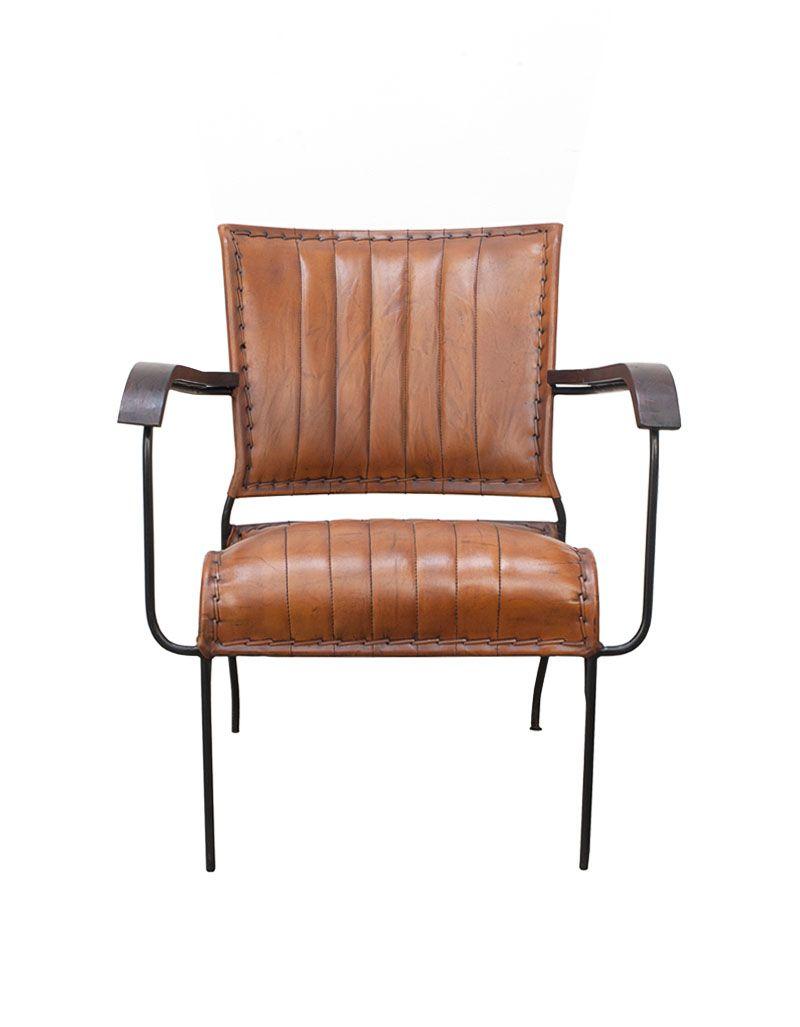 Fotel krzesło brown loft 44 x 57 x 35