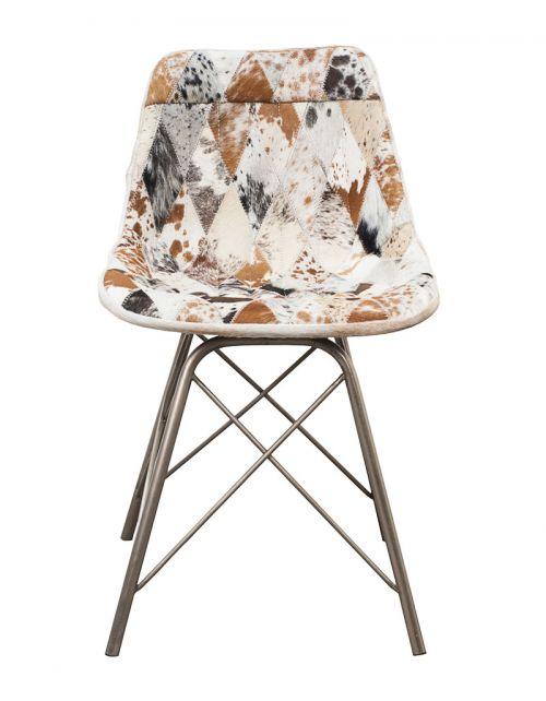Krzesło z obiciem skórzanym M-12248