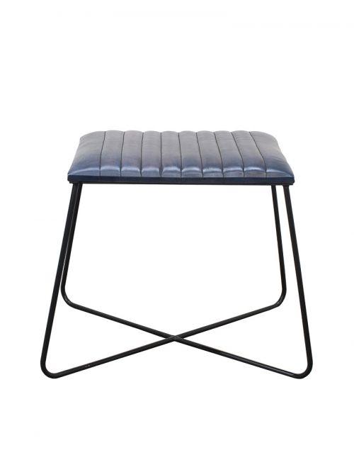 Krzesło / Stołek z obiciem skórzanym M-20067
