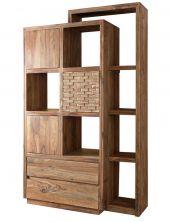 Biblioteczka / Szafka Madera (3+2+7) 195x150x45