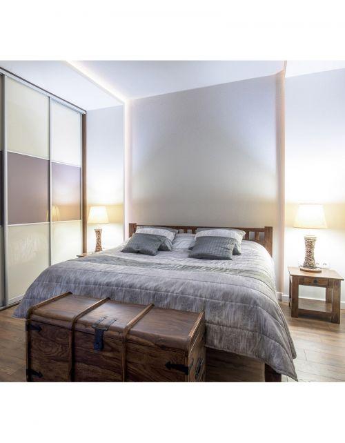 Łóżko sypialniane 160x200 Walnut