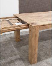 Stół drewniany jadalniany 148/220cm Natural