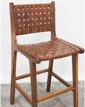 Fotel z obiciem Klasyczny Mahoń