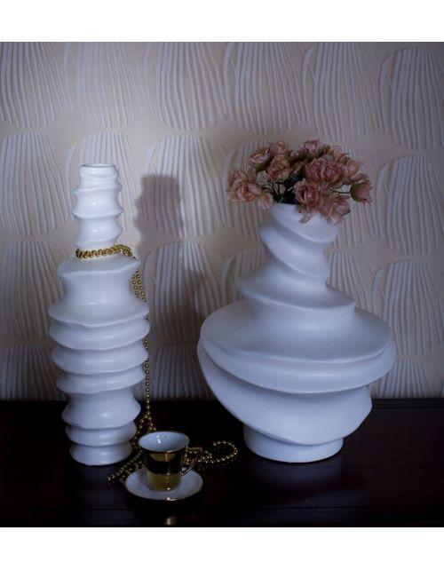 Waza porcelitowa Curl Large