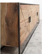 Komoda do salonu 4 - drzwiowa Spider Natural 175cm