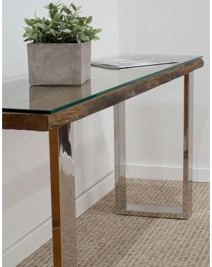 Toaletka Rustico 130 x 76 x 40 + szkło hartowane 10mm