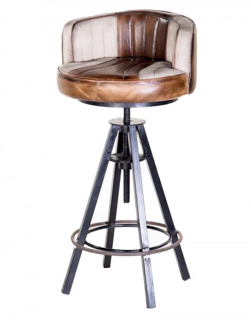 Hoker / Krzesło / Stołek barowy HD-7544
