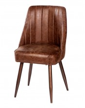 Krzesło z obiciem skórzanym HD-9577