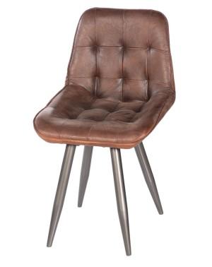 Krzesło z obiciem skórzanym HD-9582