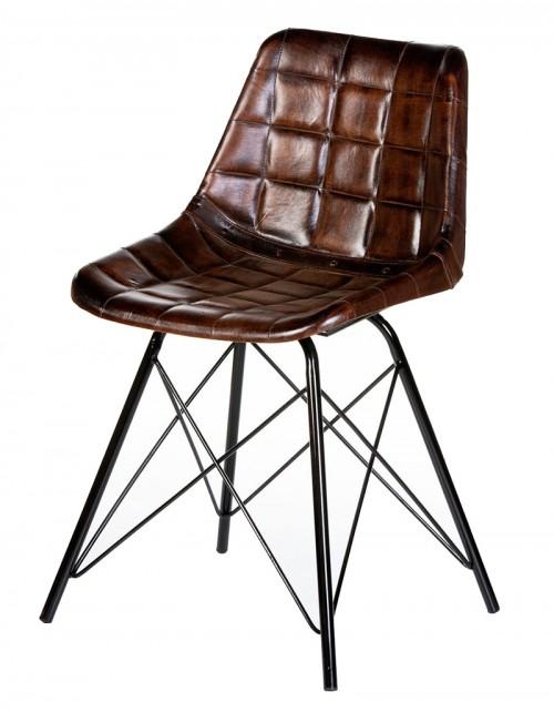 Krzesło z obiciem skórzanym HD-8070 74x47x50