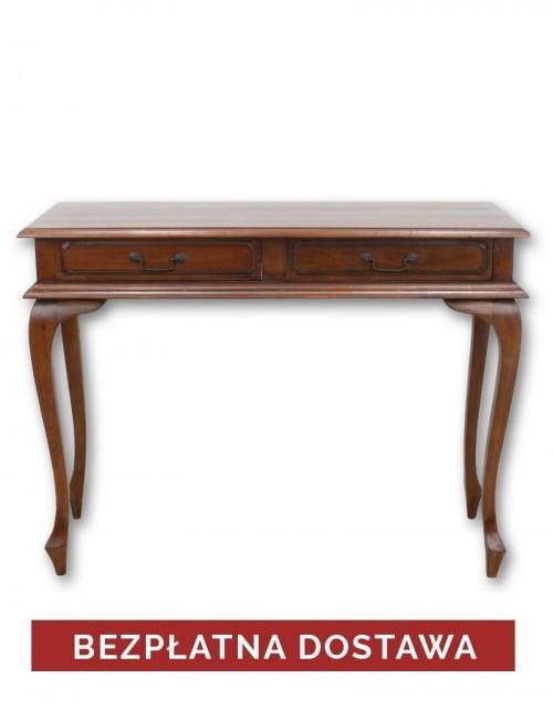 Toaletka biurko ( 2 ) Klasyczne Mahoń + BEZPŁATNA DOSTAWA