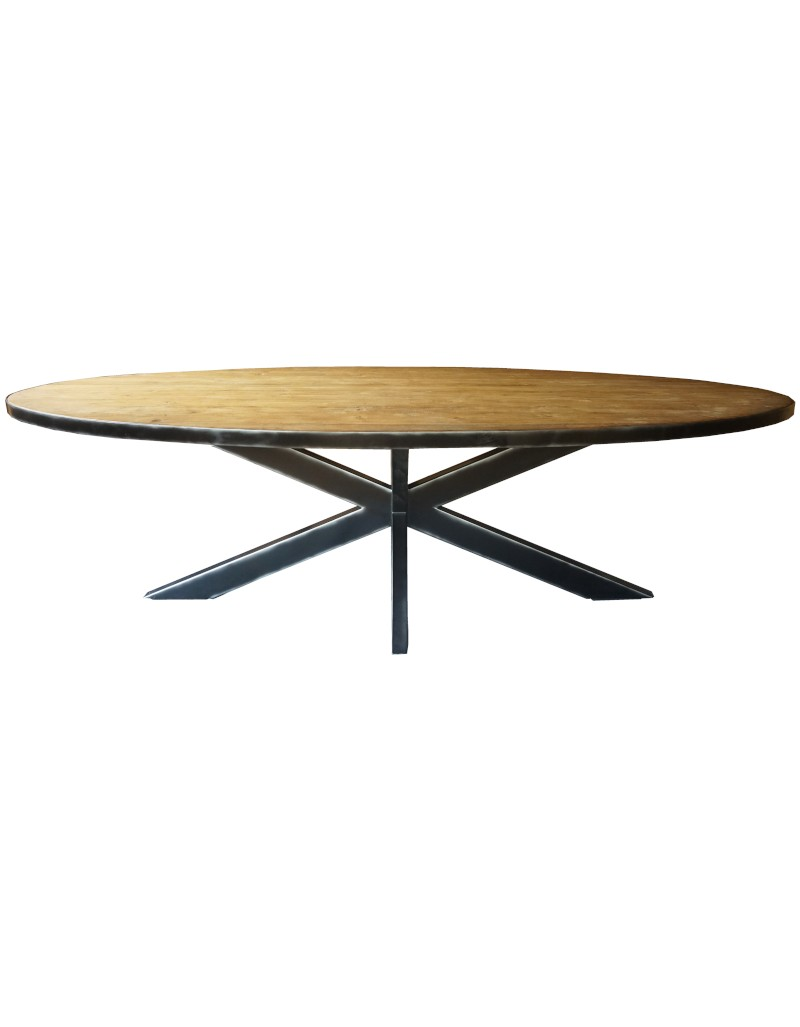 Stół jadalniany TORAJA Tek 200x90/100x76