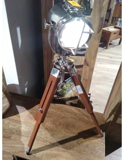 Regulowana lampa stojąca na trójnogu 70cm