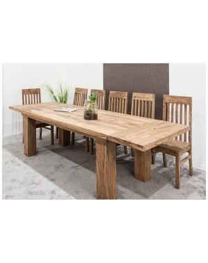 Stół drewniany jadalniany 180/260 SHINA NTM