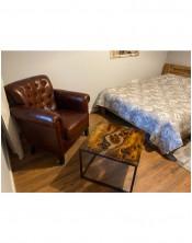 Fotel brown 90x80x78